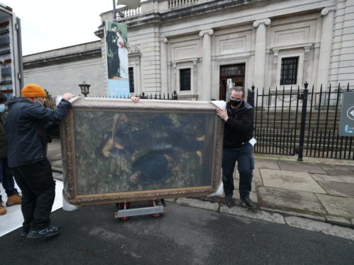 The paintings were on loan in London and Australia (Peter Byrne/PA)