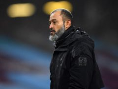 Wolves manager Nuno Espirito Santo fears for football's future (Gareth Copley/PA)