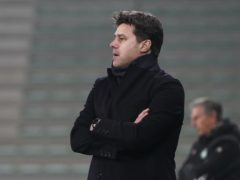 Mauricio Pochettino takes charges of Paris St Germain for the first time at St Etienne (Laurent Cipriani/AP)