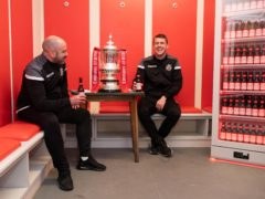 Marine manager Neil Young, left, has had help from Liverpool ahead of the FA Cup tie with Tottenham (Dave Thompson/PA)