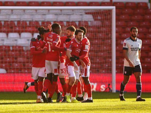 Nottingham Forest beat Cardiff (Zac Goodwin/PA)