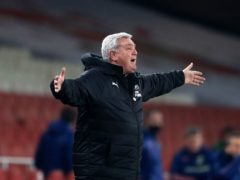 Newcastle head coach Steve Bruce was less than impressed with his side's performance at Sheffield United (Adam Davy/PA)