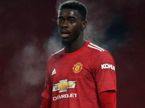 Manchester United's Axel Tuanzebe during the Emirates FA Cup third round match at Old Trafford, Manchester (Martin Rickett/PA Images).