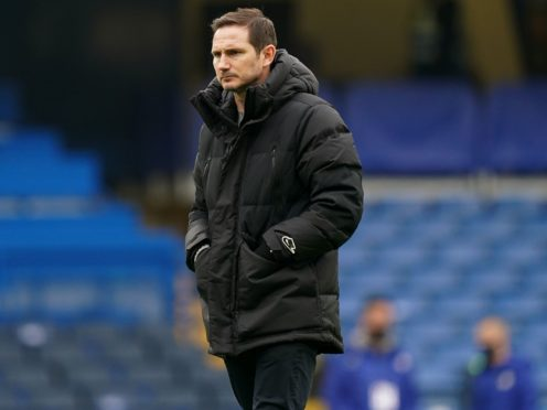 Chelsea manager Frank Lampard saw his side beat Morecambe 4-0 in the FA Cup (John Walton/PA).