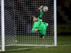 Jason Steele made four saves in the shoot-out (Nick Potts/PA)