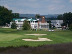Trump National Golf Club in Bedminster will no longer host the event (AP/Seth Wenig)