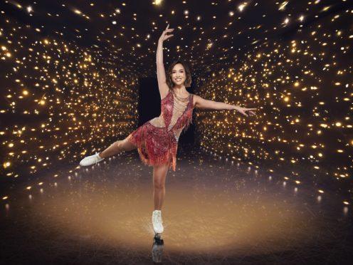 Dancing On Ice contestant Myleene Klass (Matt Frost/ITV)