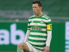 Celtic's Callum McGregor refusing to give up title hopes ( Jane Barlow/PA)