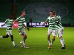 Celtic were under-strength against Hibernian on Monday (Jane Barlow/PA)