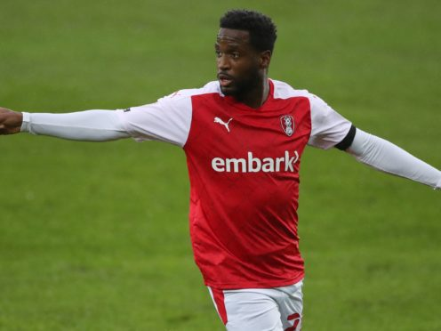 Florian Jozefzoon is available again for Rotherham after missing the match against parent club Derby (Nick Potts/PA)