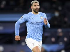 Manchester City are still without Sergio Aguero (Peter Powell/PA)