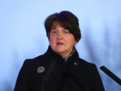 First Minister Arlene Foster said all politicians should currently be focused on tackling the pandemic (Liam McBurney/PA)