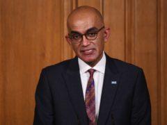 Dr Vin Diwakar, regional medical director for London (Leon Neal/PA)