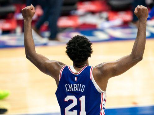 Philadelphia 76ers' Joel Embiid (Chris Szagola/AP)