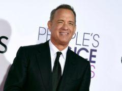 Tom Hanks said 'the dream of America has no limit' as he welcomed a new era under Joe Biden's presidency (Jordan Strauss/Invision/AP, File)