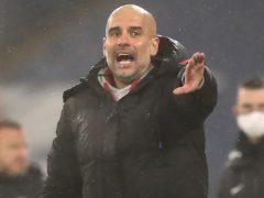Pep Guardiola's Manchester City face Crystal Palace this weekend (Martin Rickett/PA)