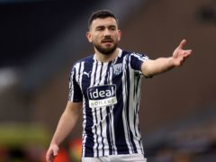 Robert Snodgrass was left out of the West Brom squad at West Ham (Carl Recine/PA)