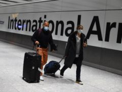 Senior ministers will meet on Tuesday to discuss the introduction of tougher travel measures such as quarantine hotels in response to new coronavirus strains (Kirsty O'Connor/PA)
