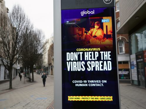 People are told to self-isolate if they come into contact with someone with coronavirus (Zac Goodwin/PA)