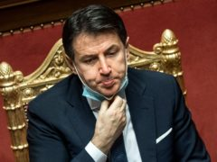 Italian Prime Minister Giuseppe Conte (Roberto Monaldo/Lapresse via AP)