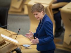 The First Minister announced the funding in Holyrood on Wednesday (Jane Barlow/PA)