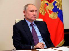 Russian President Vladimir Putin's spokesman said he supports the treaty extension (Mikhail Klimentyev, Sputnik, Kremlin Pool Photo via AP)