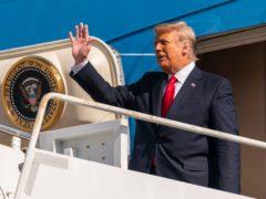 Former president Donald Trump faces an impeachment trial (Manuel Balce Ceneta/AP)