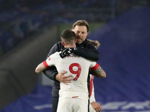 Ralph Hasenhuttl is hopeful of keeping Danny Ings at Southampton (Gareth Fuller/PA)