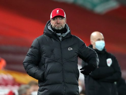 Jurgen Klopp knows his side have a lack of confidence (Clive Brunskill/PA)