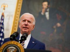 President Joe Biden is reimposing travel restrictions (Evan Vucci/AP)