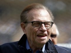 Guests at the funeral of US chat show host Larry King wore braces in tribute to the late talk show veteran, his wife said (Jae C Hong/AP)
