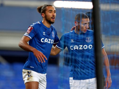 Dominic Calvert-Lewin (left) rediscovered his goal-scoring touch (Peter Byrne/PA)
