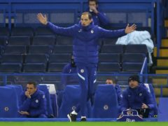 New Chelsea manager Thomas Tuchel took charge of his first match on Wednesday evening (Richard Heathcote/PA)