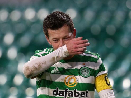 Celtic need to learn lessons says Callum McGregor (Andrew Milligan/PA)