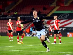 Ross Barkley's header was enough to give Aston Villa all three points at Southampton (Michael Steele/PA)