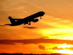 A plane (Owen Humphreys/PA)