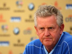 Colin Montgomerie captained Europe in 2010 (Lynne Cameron/PA)