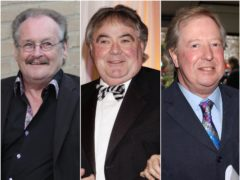 Bobby Ball, Eddie Large and Tim Brooke-Taylor are among the celebrities who have died after contracting Covid-19 (PA)