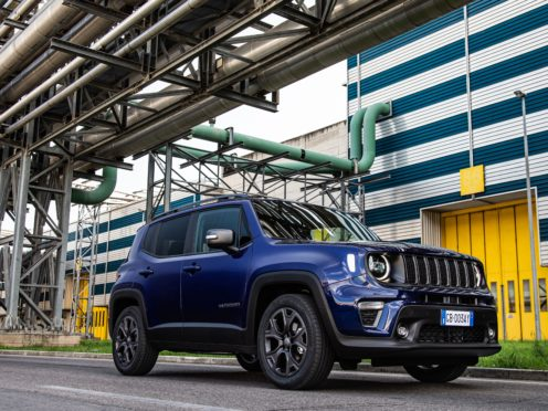 The special-edition Renegade boasts numerous additions