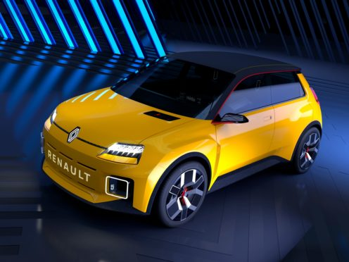 The production Renault 5 will feature an electric powertrain