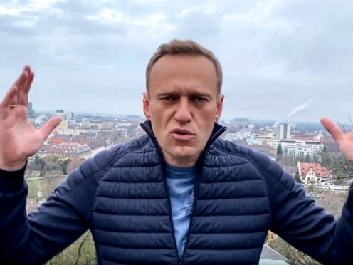 Alexei Navalny (Navalny instagram account via AP)