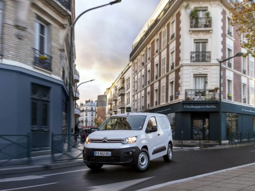 The e-Berlingo brings a range up to 171 miles