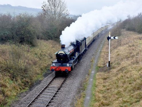 The Gloucestershire Warwickshire Steam Railway carried fewer than 29,000 passengers last year due to the coronavirus pandemic (Ian Crowder/GWSR/PA)