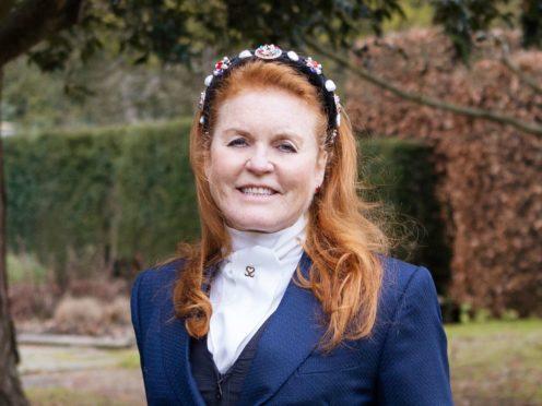 Sarah, Duchess of York promoting her Mills & Boon romance book (HarperCollins/PA)