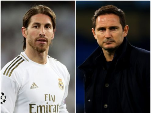 Sergio Ramos and Frank Lampard feature in today's transfer gossip (Nick Potts/Richard Heathcote/PA)