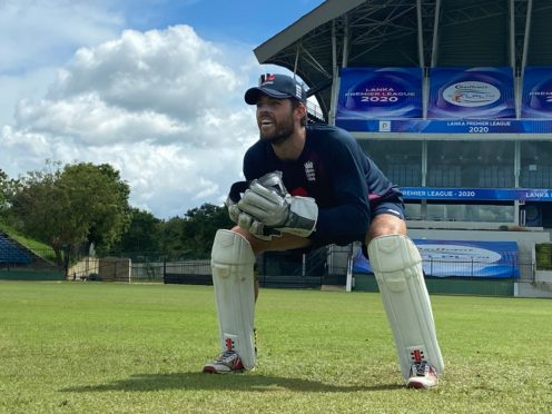 Ben Foakes prepares to embrace his second shot at Test cricket (ECB/PA)