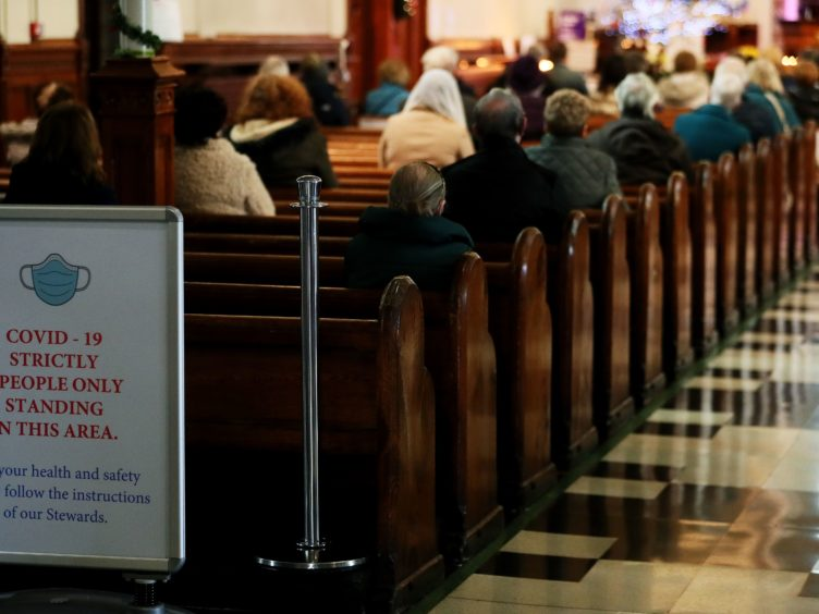 120 people attended places of worship while infectious with coronavirus in the last week, MSPs were told (Brian Lawless/PA)
