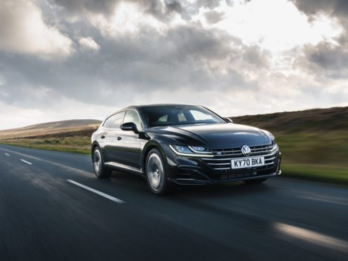 The Arteon feels at its best on long, sweeping roads