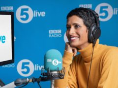 Naga Munchetty, who has begun her new job on BBC Radio 5 Live (BBC/PA)