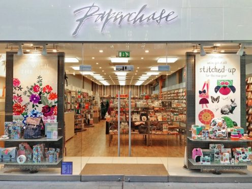 Paperchase has filed a notice to appoint administrators from PwC (Paperchase/PA)